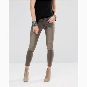 Free People Murray Stretch Skinny Jeans 28
